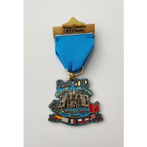 Alamo Couriers DRT Vintage Medal- 2019