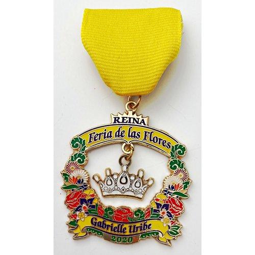 #11 Lulac Council No. 2 Reina Feria de Las Flores Medal- 2020