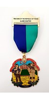 #14 Sons of the Republic of Texas Alamo Chapter Medal- 2020