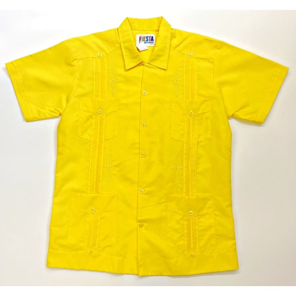YELLOW- Men's Guayabera