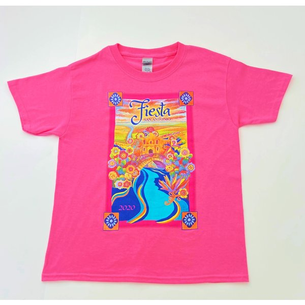 2020 Official Poster Tee -Youth- Pink