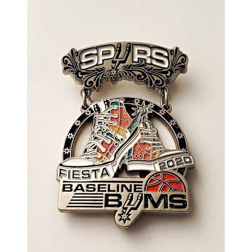 #15 Spurs Baseline Bums Medal- 2020