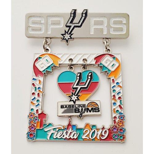 Spurs Baseline Bums Vintage Medal- 2019