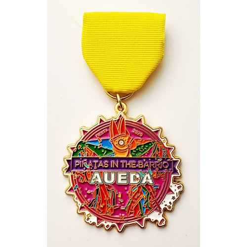 #16 AUEDA- Pinatas in the Barrio Medal- 2020