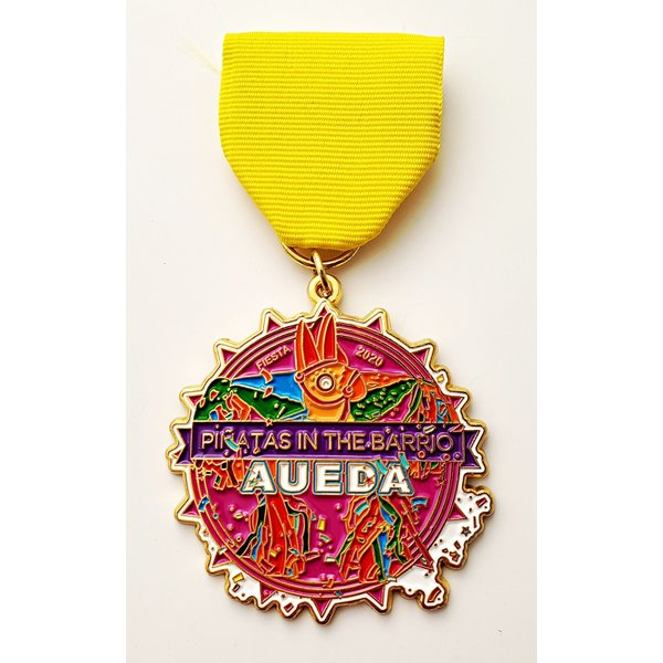#16 AUEDA- Pinatas in the Barrio Medal- 2020