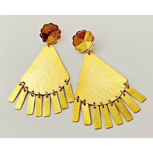 Dora Flowers Earring-19