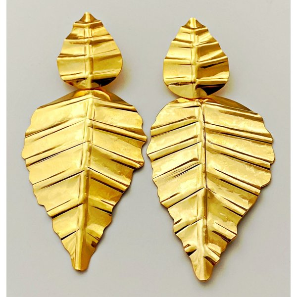 Double Leaf Earring-19