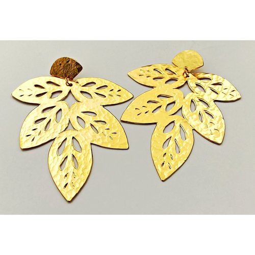 Multi Leaf Earring-19