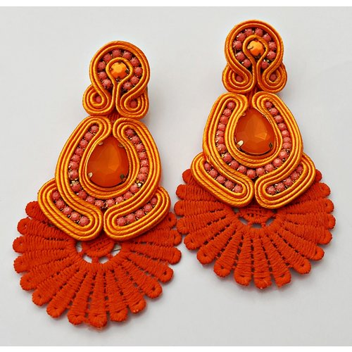 Sammy Orange- Earring19