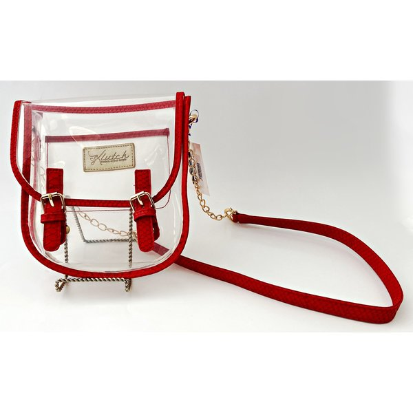 Klear Stadium Saddlebag- Red-19