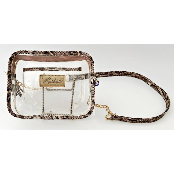 Klear Stadium Box Crossbody -Snake-19