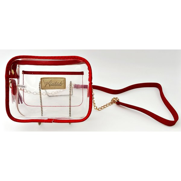 Klear Stadium Box Crossbody -Red-19
