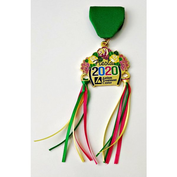 20 Autism Treatment Center Medal 2020 The Fiesta Store