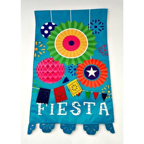 "19"" x 12"" Fiesta Garden Flag-20"
