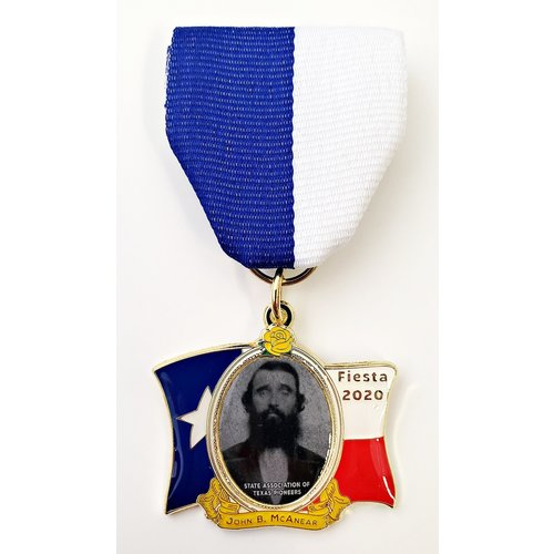 #21 State Association of Texas Pioneers Medal- 2020