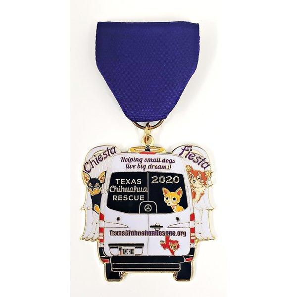 #23 Texas Chihuahua Rescue Medal- 2020