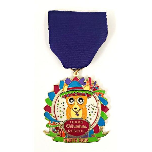Texas Chihuahua Rescue VIntage Medal- 2019