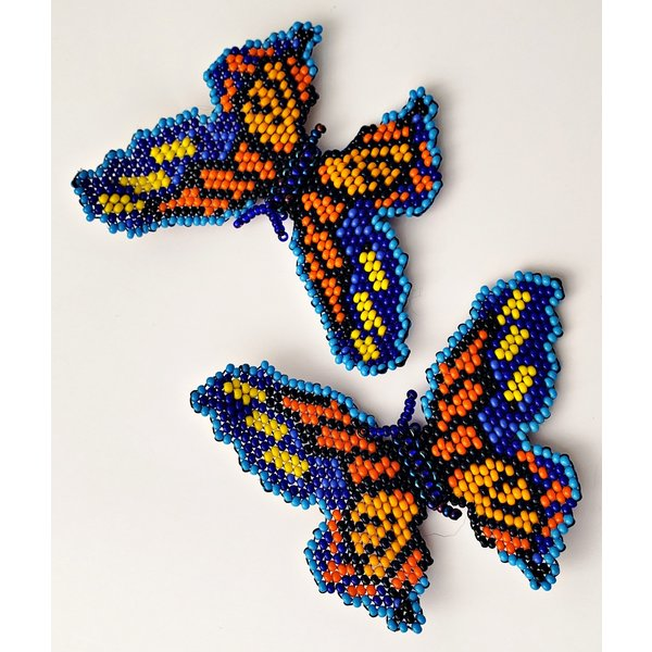 2020 Official Poster Beaded Butterfly Earrings By Treasure Jewels