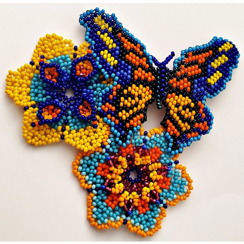 2020 Official Poster Beaded Brooche By Treasure Jewels