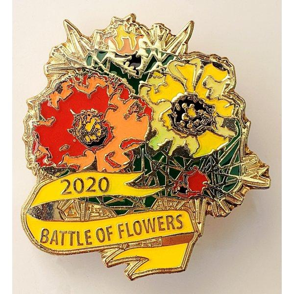 #26C Battle of Flowers Wildflower Pin- 2020
