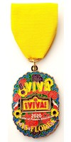 #26A Battle of Flowers Parade Medal- 2020