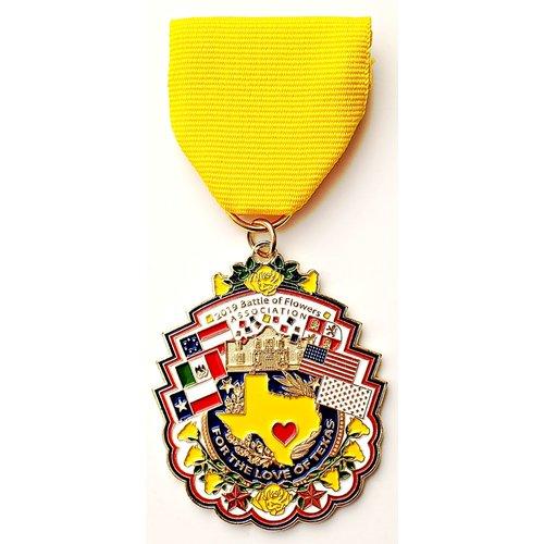 Battle of Flowers Vintage Parade Medal- 2019