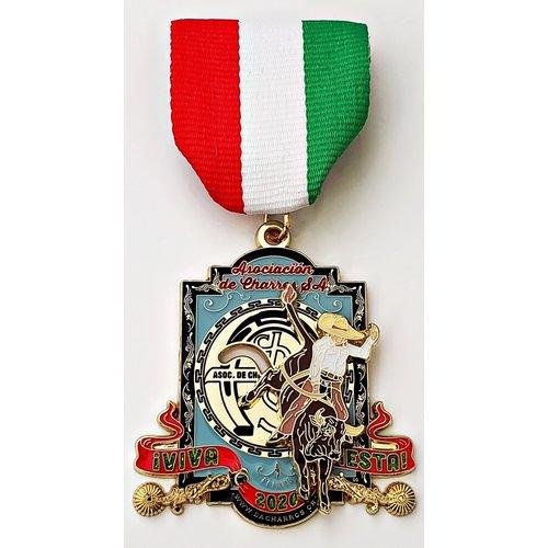 #28 Asociacion de Charros de SA Medal- 2020