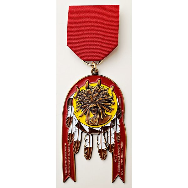 #29 United San Antonio Pow Wow Medal- 2020