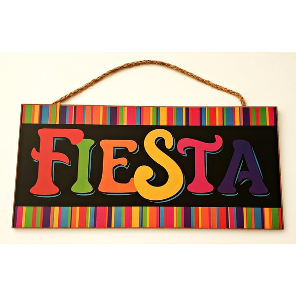 Fiesta Rectangle Sign