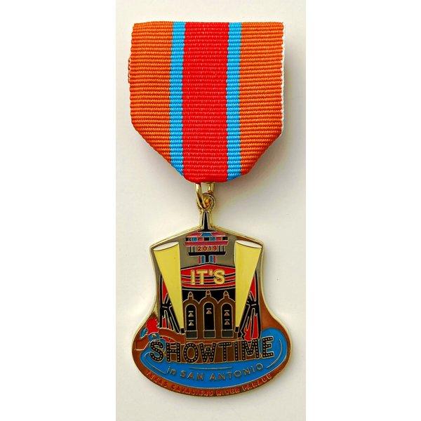Texas Cavaliers Vintage 2019 Medal
