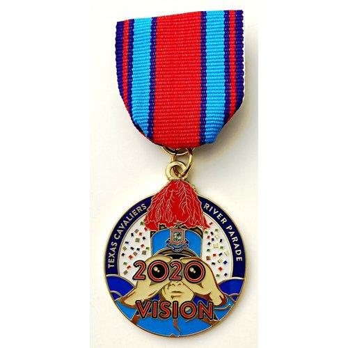 #30A Texas Cavaliers River Parade Medal- 2020