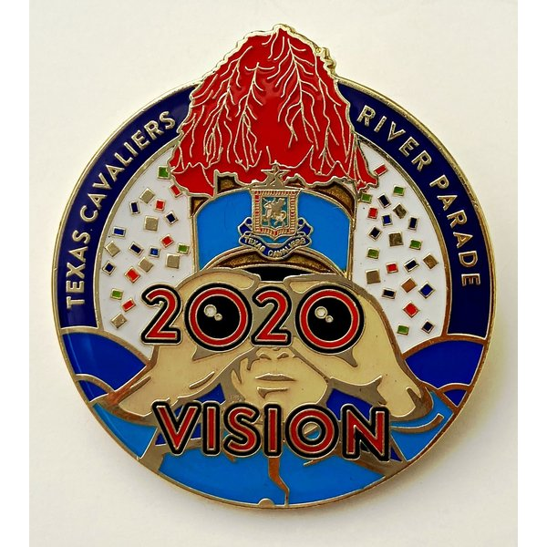 #30B Texas Cavaliers River Parade Pin- 2020