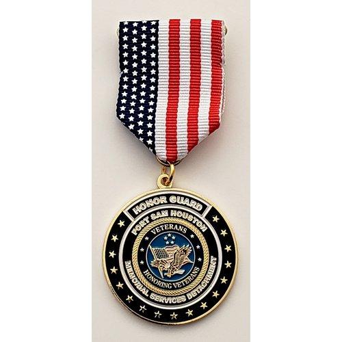 #31 Ft. Sam Houston Memorial Services Detachment- Honor Guard- Medal- 2020