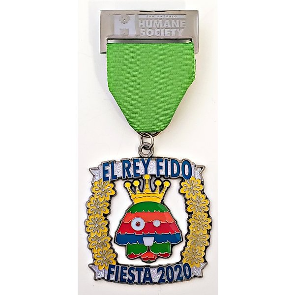 #34B San Antonio Humane Society Dog Medal- 2020