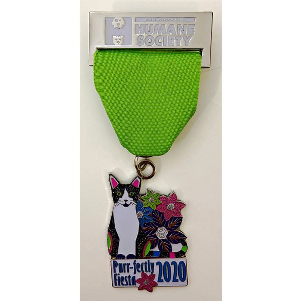 #34A San Antonio Humane Society Cat Medal- 2020
