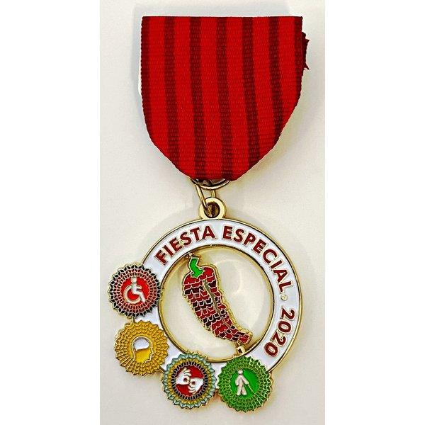 #37A disABILITY SA Fiesta Especial- Medal- 2020