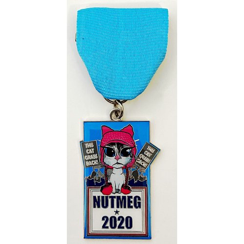 #35A CocoMeg Cares, Inc.- Nutmeg- Medal- 2020