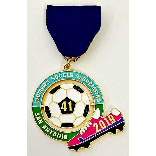 Women's Soccer Association Vintage Medal- 2019