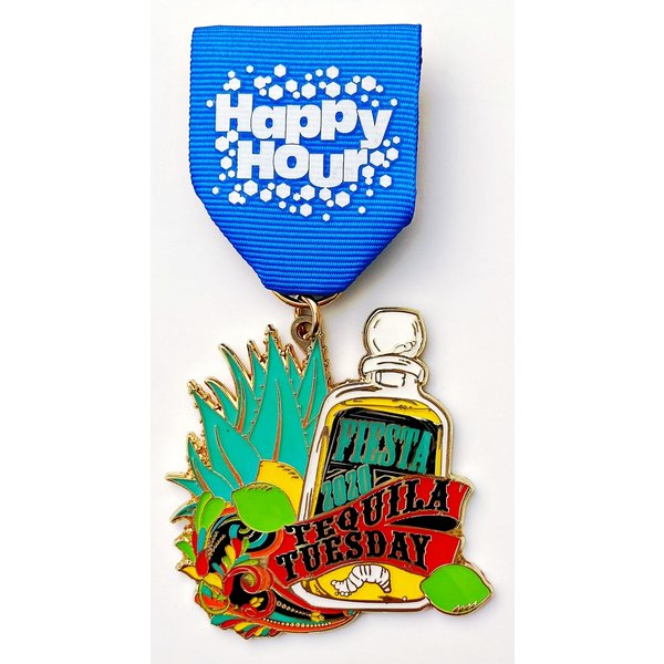 2020 Tequila Tuesday Medal