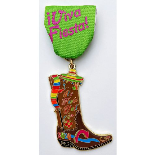 2020 Official It's Fiesta Y'all Medal