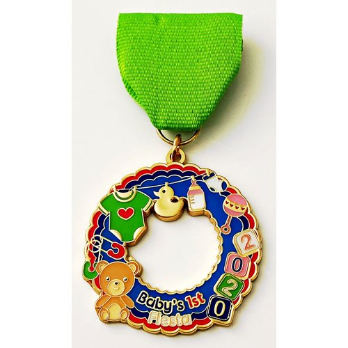 2020 Baby's First Fiesta Medal