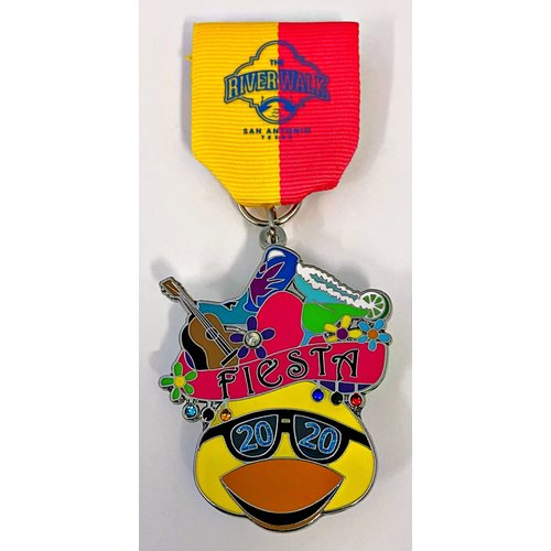 San Antonio Riverwalk Association 2021 Medal