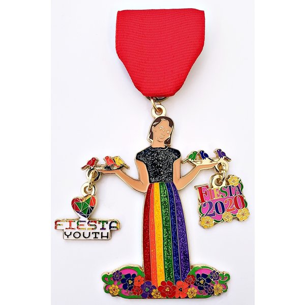 #40 Fiesta Youth Medal -2020