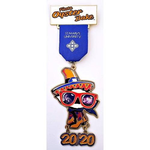#41 Fiesta Oyster Bake Medal- 2020
