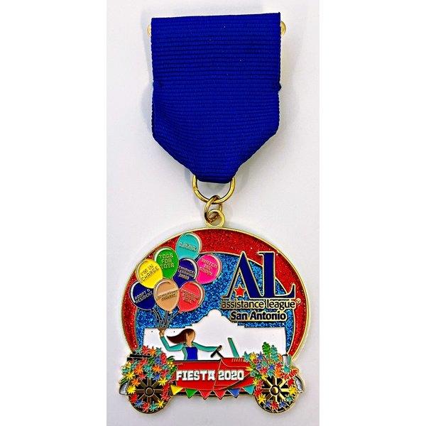 #43 Assistance League of San Antonio Medal- 2020
