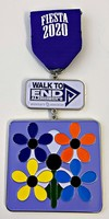 #42 Alzheimer's Association 1st Survivor Medal- 2020