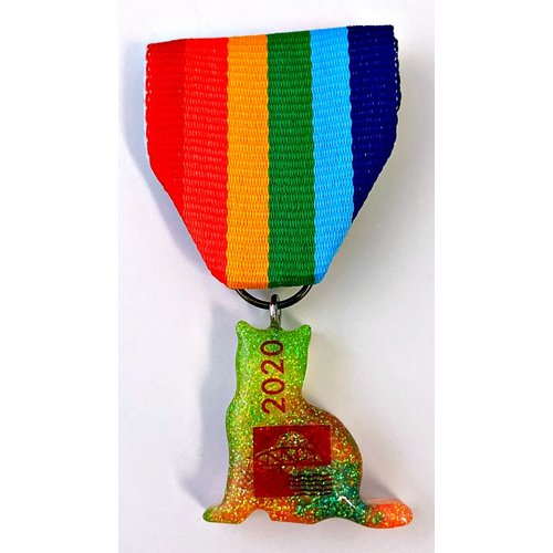 #6A Footbridge Foundation Cat- Wendy's Rescue Medal-2020