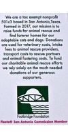 #6B Footbridge Foundation Dog- Wendy's Rescue Medal-2020