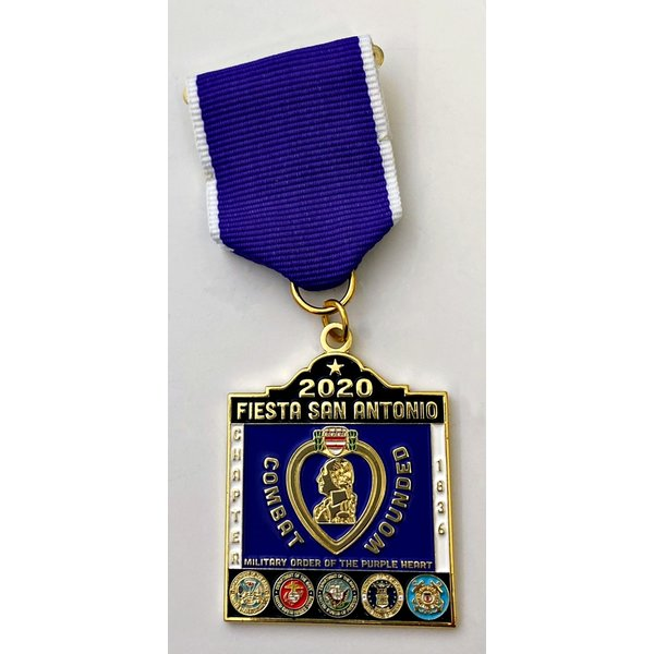 #48 Military Order of the Purple Heart Chapter 1836 Medal- 2020