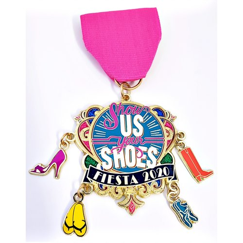 2020 Show Us Your Shoes Medal